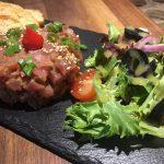 Tartare de thon épicé à l'asiatique